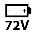 72 Volt Li Ion