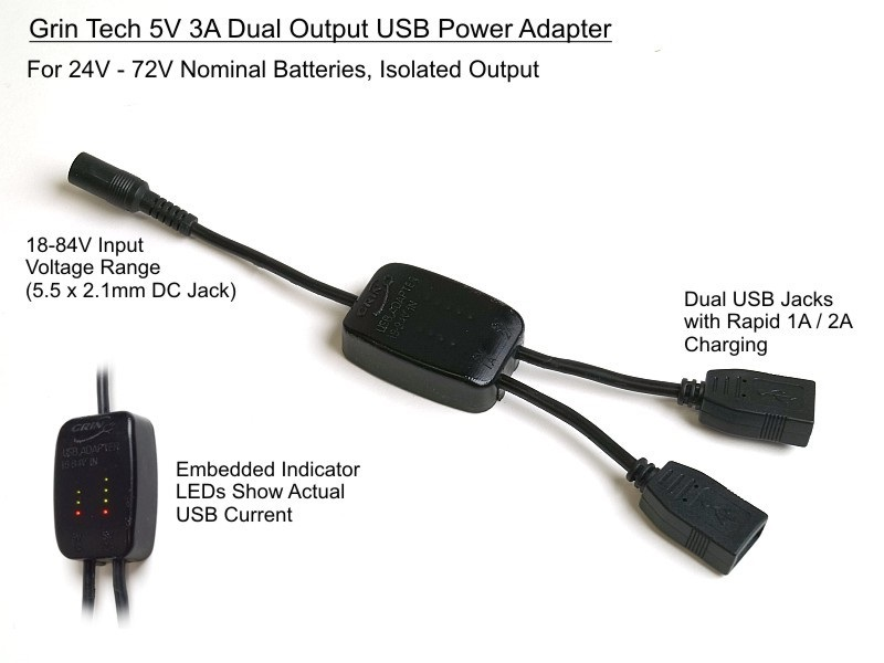 DC : DC USB DUAL