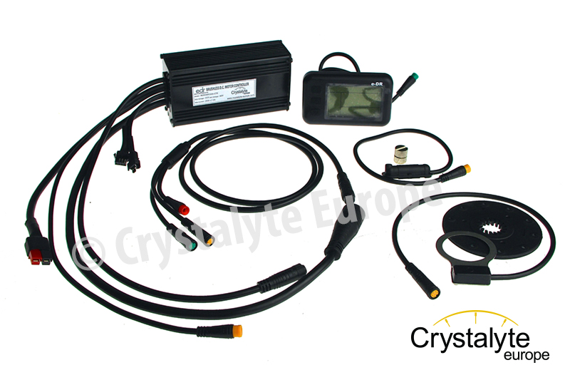 Controller kit 36V20A with e-DR display