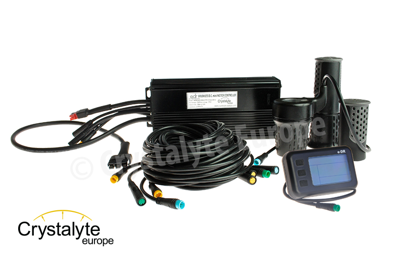 Controller kit 48V30A with e-DR display for TAXI BIKE