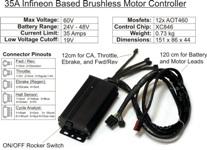 GRIN CONTROLLER 24-48V 35A REGEN