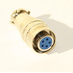 5 Pin Female Mini XLR Hall Connector
