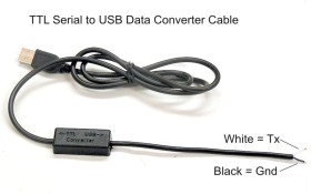 Data cable for cycle analyst